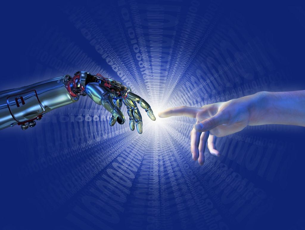 image of Birth of Artificial Intelligence - Binary Burst